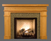 Bridgewater Custom Wood Fireplace Mantel