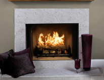 Madeira cream river washed Limestone for your fireplace surround facing