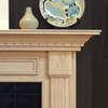 Detail image of the Harrisburg mantel.