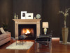 The Harrisburg Fireplace Mantel shown in maple.