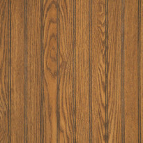 Sample of Highlander Oak beadboard Paneling.  4x8 Sheets