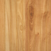 Detail image of our Native Birch laminated beadboard wainscot