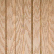 Red Oak veneer on plywood core panel. Wainscoting