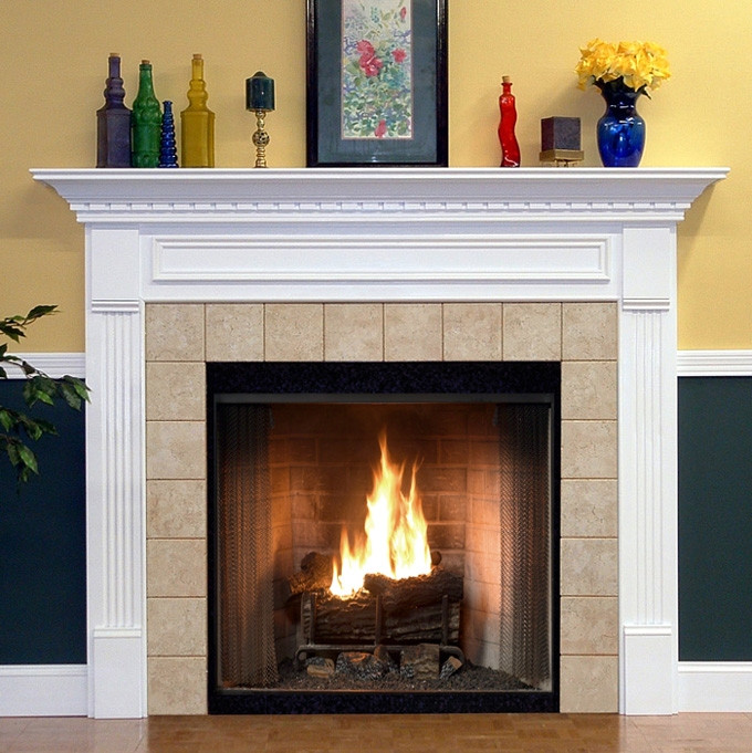 Wood Fireplace Mantels Mantel Surround Hillsboro
