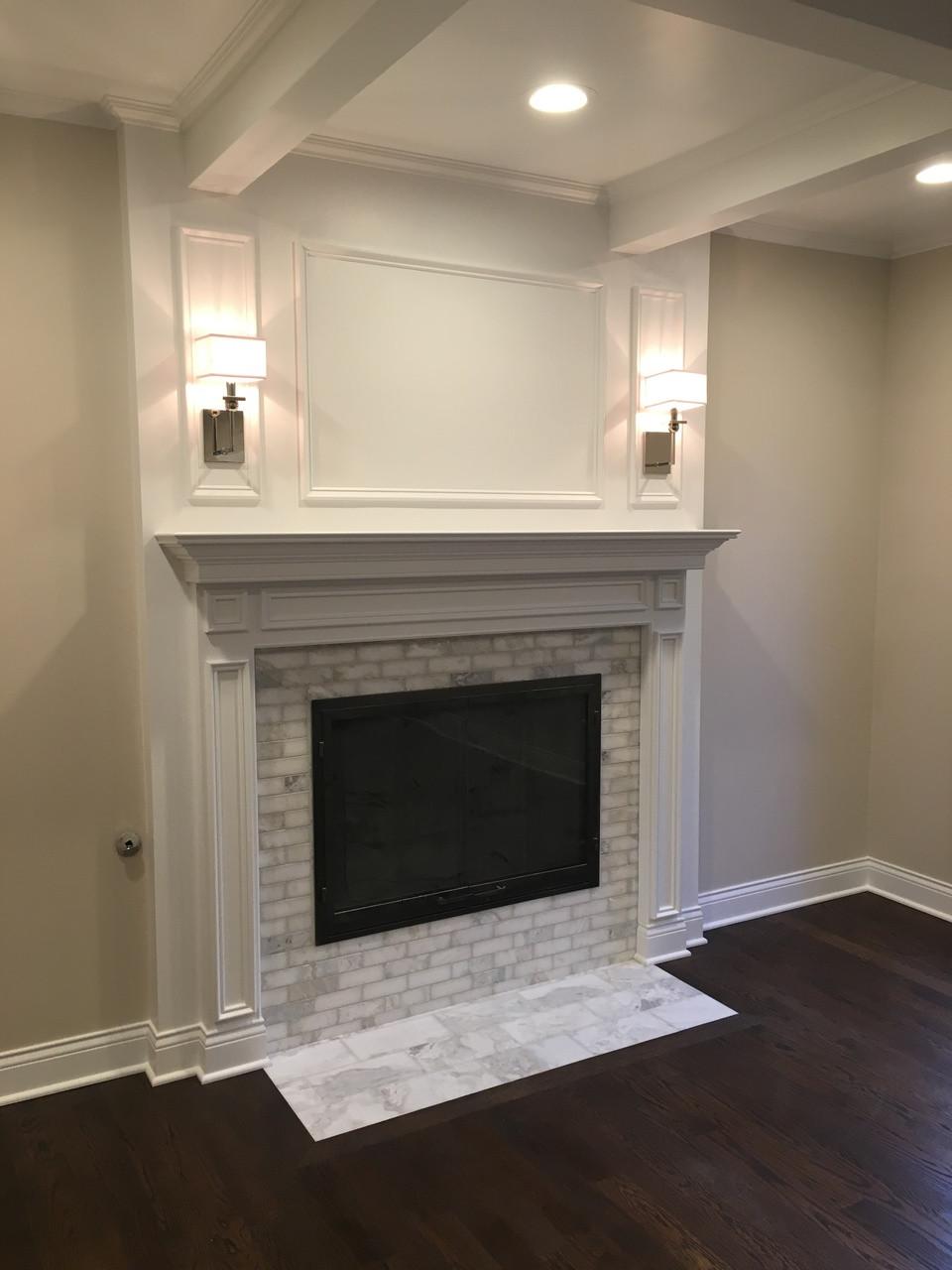 Savannah Wood Fireplace Mantel Custom Mantelcraft