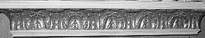 Acanthus Leaf Stone Mantel Shelf - 6.5-Foot MT3-78
