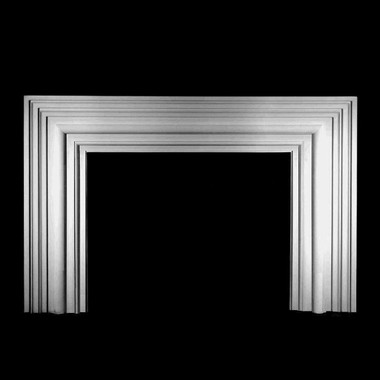 MT4 Bolection cast plaster mantel surround. Paint or faux finish
