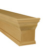 Pleasanton cornice shown in paint grade