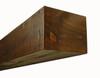 shelf shown in Antique Brown