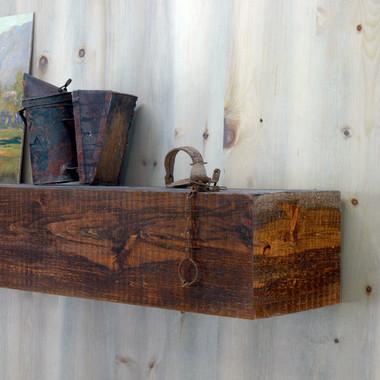 Appalachian Rustic Mantel Shelf In Custom Sizes