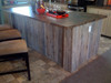 Weathered and Aged Cedar Paneling for a rustic, cozy feel