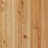Detailed image of our 4 x 8 Sheets of Plywood paneling with a pine pattern laminate