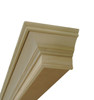 Built from a combination of poplar moldings and MDF
