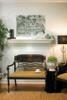 The Victory fireplace mantel shelf.