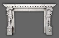 The Hercules #350 Greco Roman Mantel