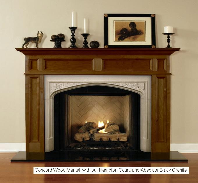 The Hampton Court Marble Mantels Mantelcraft