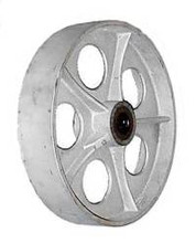"12"" by 2-1/2"" Cast Iron Wheel -1800 lbs Capacity"
