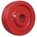"6"" x 3"" Crowned Ductile Steel Wheel - 6000 lbs Capacity"