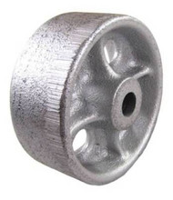 "Cast Iron Wheel 3-1/2"" x 1-1/2"