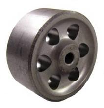 "Sintered Iron (metal) Wheel 2"" x 1"" - 125 lbs capacity"