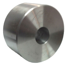"4"" by 2"" Machine Solid Steel Wheel - 2500 lbs capacity"