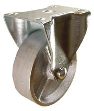"4"" x 1-1/4"" Semi-Steel Rigid Caster -350 lbs Capacity"