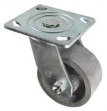 "4"" x 2"" Cast Iron Swivel Caster -900 lbs Capacity"