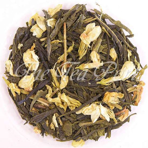 Niagara Peach Loose Leaf Green Tea