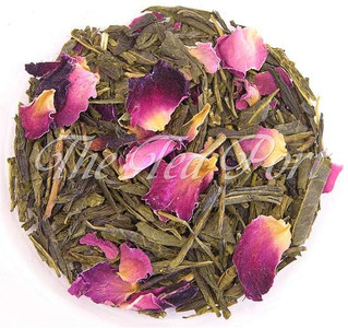 Sencha Kyoto Cherry Rose Loose Leaf Green Tea