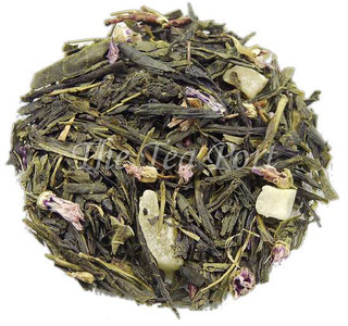 Blue Mango Loose Leaf Green Tea