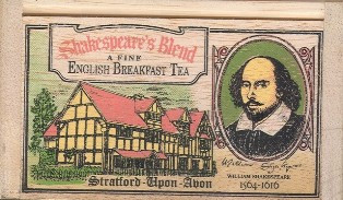 English Breakfast - Shakespeares Blend Tea Bags