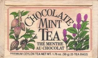 Chocolate Mint Tea Bags