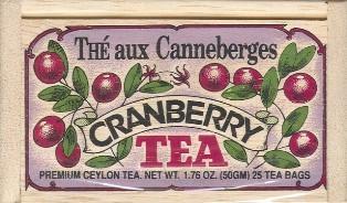 Cranberry Tea Bags