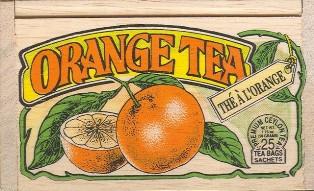 Orange Tea Bags