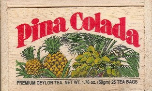 Pina Colada Tea Bags