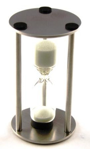 Sand Timer - 3 Minute - Metal