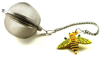 Mesh Ball Tea Infuser - 2 inches - Honey Bee