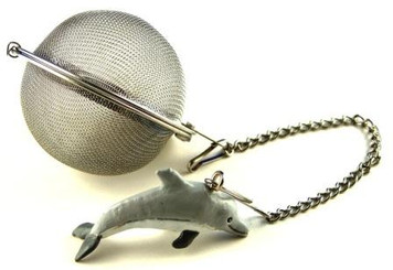 Mesh Ball Tea Infuser - 2 inches - Dolphin Design