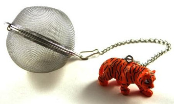 Mesh Ball Tea Infuser - 2 inches - Tiger Design