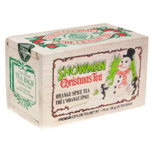 Snowman Christmas Tea Bags