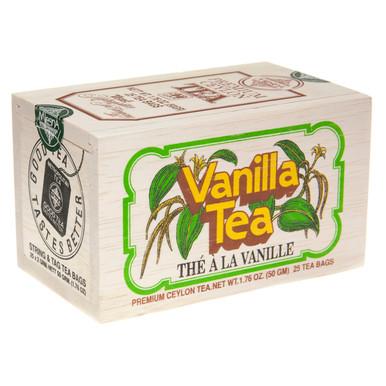 Ceylon tea with a smooth, vanilla finish.