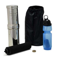 The Go Berkey comes complete, takes a few minutes to assemble, and operate