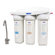 Undersink Triple  8 stages:  Smart 6 Stage with Carbon Block & Sediment 10K GAL