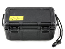 Cigar Caddy Black 15 Stick Travel Cigar Humidor