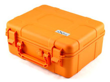 Cigar Caddy Orange 40 Stick Travel Cigar Humidor