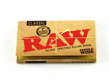 RAW Single Natural Rolling Papers