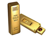Gold Bar USB Electronic Rechargeable Lighter