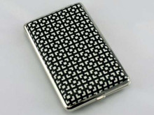 Black Square Cigarette Case