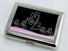 Happy Hearts Cigarette Case