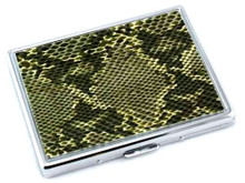 Green Snake Cigarette Case